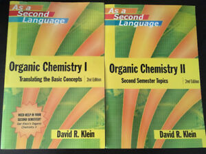 Organic Chemisty as a Second Language by David Klein
