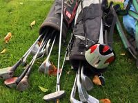Golf clubs and bags for sale