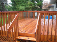 TOP QUALITY DECK AND FENCE STAINING AND PAINTING 204-295-0621