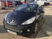 Peugeot 207 CC 1.6 GT PETROL MANUAL 2010/10