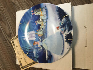 1990s Bradford exchange Disney collector plates