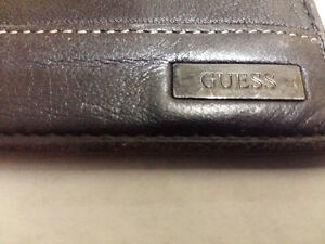 Authentic Leather Wallet Guess