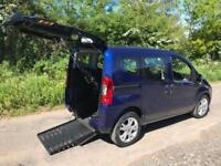 2013 Fiat Qubo 1.3 Multijet MyLife 5dr AUTOMATIC RIDE UPFRONT WHEELCHAIR ACCE...