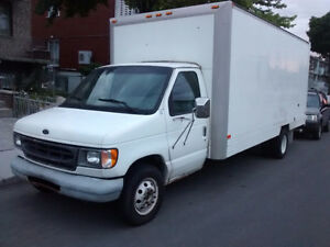 1999 Ford E-450 Ctv Camion cube