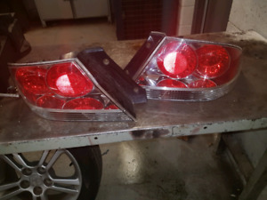 2004-2006 mitsubishi lancer ralliart tail light