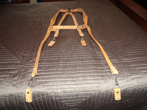 Leather Suspender (New) Heavy Duty