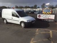 Vauxhall combo 2000 cdti mot July 2017 with warranty one owner from new