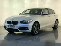 2017 67 BMW 118I PETROL HATCHBACK SAT NAV PARKING SENSORS AIR CON SVC HISTORY