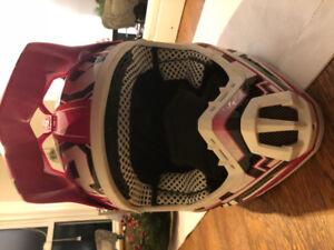 FXR Torque Women's helmet  + FXR X-system Pant with FAST