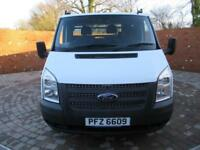 FORD TRANSIT 350 ONE STOP DROPSIDE MWB 125 BHP 12FT DROPSIDE 3 SEATS