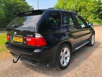 04 BMW X5 4.4i SPORT BLACK LOW 80K PANORAMIC SUNROOF SAT NAV FACELIFT PX SWAPS