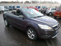 2008 Ford Focus 1.6 CC-1 Convertible Only 54K FSH in Purple 2 Owners