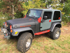 2003 Jeep TJ Convertible(sold)