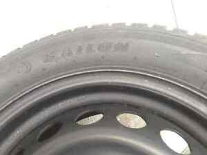 Snow tires and rims 215/55R16 Windsor Region Ontario image 6