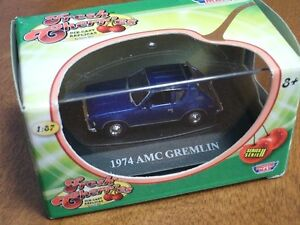 HO scale AMX Gremlin car for electric model trains