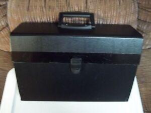 Black Floating File Binder.