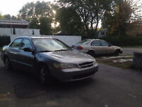 2000 Honda Accord Special edition Sedan AS IS FOR PARTS