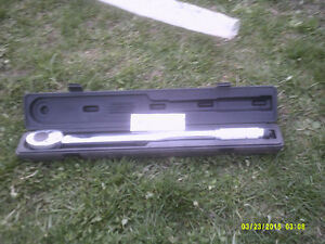"""NEW, LARGE, HEAVY DUTY 3/4"""" DRIVE TORQUE WRENCH"""