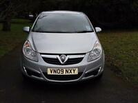2009 Vauxhall Corsa 1.3CDTi 16v EcoFlex Life upto 80mpg £30 tax £2350 *207 clio polo fiesta c3 *