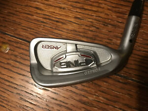 Men's left handed ping Answer golf irons 3 iron   - wedge