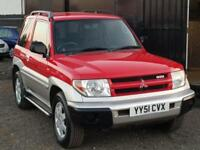 * MITSUBISHI SHOGUN PININ 2.0 GDI MIRAGE + LOW 71K MILES + LONG MOT + CLEAN *