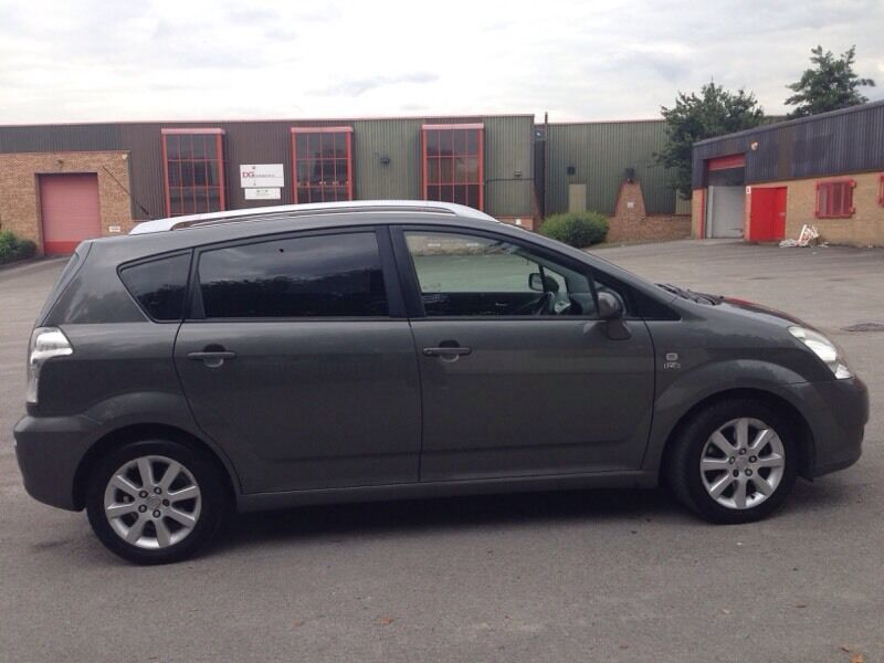 toyota corolla verso 2 0 d4d t spirit in bradford west yorkshire gumtree. Black Bedroom Furniture Sets. Home Design Ideas