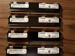 4 x 8 GB  RAM DDR3  ECC  tarde -sell for NON-ECC