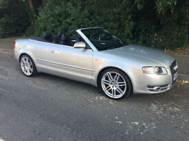 2006 Audi A4 Cabriolet 1.8T Sport (New Mot And Service Included)