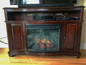 Merrill Electric Fireplace and Media Console