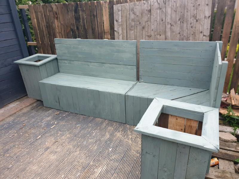 Cool Garden Bench In Dundee Gumtree Inzonedesignstudio Interior Chair Design Inzonedesignstudiocom