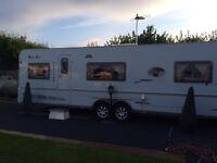 West star caravan by dethleffs