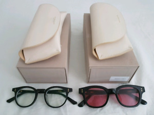 Gentle Monster - glasses (1) and sunglasses (1)