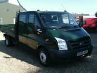 Ford Transit 350 CREW CAB DROPSIDE ONESTOP 2010 REG