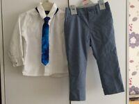 Toddler boys trousers & shirt