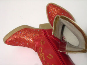 Toy Story JESSIE  Sparkly Cowgirl Boots - Toddler Size 7/8
