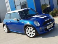 MINI Cooper S 2006 Hyper Blue R53 - Part Leather, Chili Pack, LSD, JCW KIT
