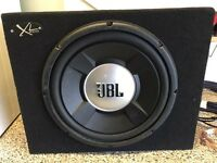 JBL sub and amplifier
