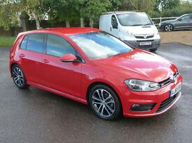 Volkswagen Golf 2.0TDI 150ps BMT ( s/s ) 2016 R-Line 5dr TORNADO RED