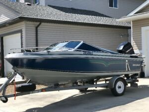 1996 Invader 17.5ft open bow excellent condition