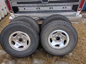Studded Tires and Rims to fit 1997-03 F-150