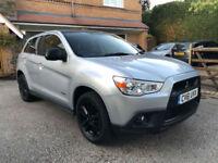 Mitsubishi ASX 1.8TD 4WD 2011 61 REG, 1 OWVER £4490