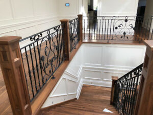 Wrought Iron Handrail, Iron Stair Railings, Iron Gates & Fences