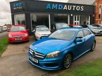 2013 63 Mercedes-Benz A180 1.5CDI BlueEFFICIENCY AMG Sport Stunning PX Finance