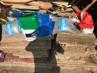 Paving slabs free for collection