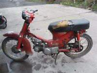 Wanted Honda C90 C70 C50 dead or alive