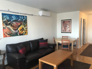 SUMMER SUBLET All-Inclusive 1 Bedroom Apt in Downtown Montreal