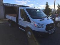 Ford Transit tipper 155 bhp 2.2 tdci 1 stop body 2015 15 Reg