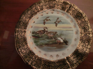REGENCY Bone China Plate with Duck decor NOW $6.00