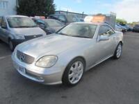 2000 Mercedes-Benz SLK SLK230 Coupe Convertible 2.3K 197 Tp5 Petrol silver Autom