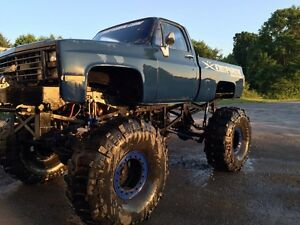 87 Chevy monster truck 20,000$ obo